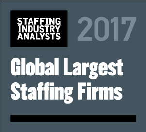 Largest Staffing Award